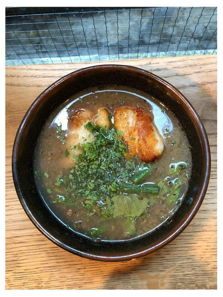 Jungle curry of cod on the menu today an aromatic fragrant and pungent curry with quite a bit of heat this particular version is boiled a traditional